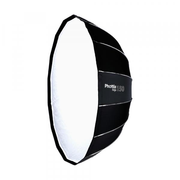 Phottix Raja Quick-Folding Softbox parabolic 150cm + montura Bowens 0