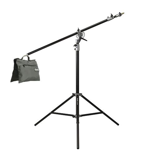 Phottix Saldo 395 - Stativ lumini 395cm cu boom si sac pentru contragreutati 0