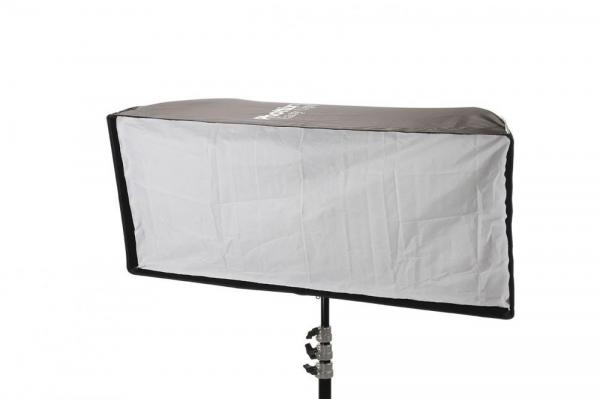 Phottix Softbox portabil, tip umbrela 40cm x 90cm + GRID ,  pentru blitz extern cu patina 4