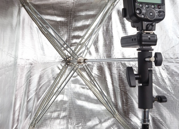 Phottix softbox portabil, tip umbrela 60cm x 90cm + GRID ,  pentru blitz extern cu patina [3]