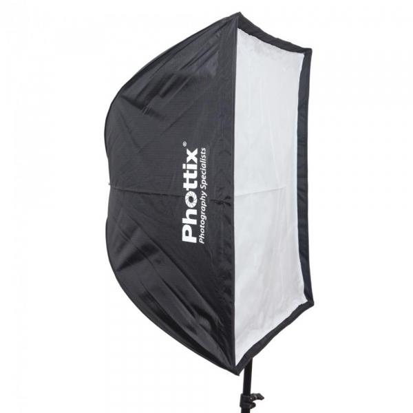 Phottix softbox portabil, tip umbrela 60cm x 90cm + GRID ,  pentru blitz extern cu patina [0]