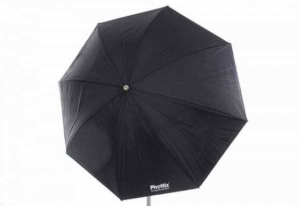 Phottix umbrela 2 straturi (argintiu / negru ) 101cm 3