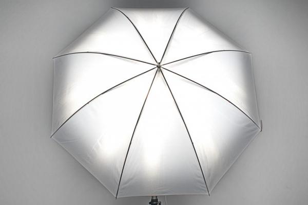Phottix umbrela 2 straturi (argintiu / negru ) 101cm 2
