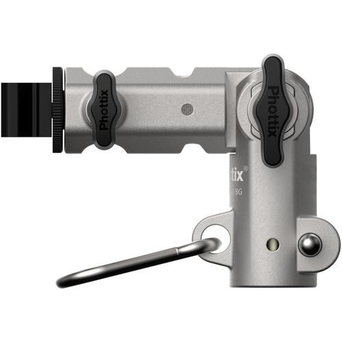 Phottix Varos Pro BG - suport umbrela si blitz 1