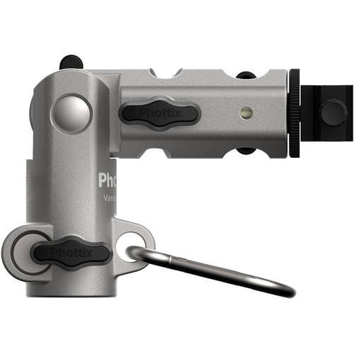 Phottix Varos Pro BG - suport umbrela si blitz 2