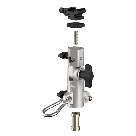 Phottix Varos Pro S - suport umbrela si blitz 2
