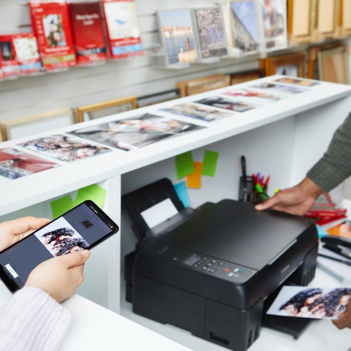 PIXMA G640 - Imprimanta foto format A4, cu rezervoare reciclabile [5]