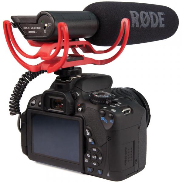 Rode Rycote VideoMic - microfon directional, compatibil DSLR, jack standard 3.5mm [4]