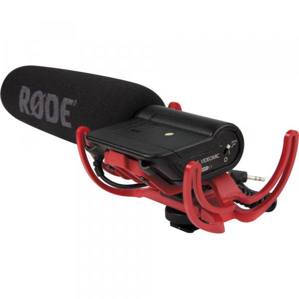 Rode Rycote VideoMic - microfon directional, compatibil DSLR, jack standard 3.5mm [2]