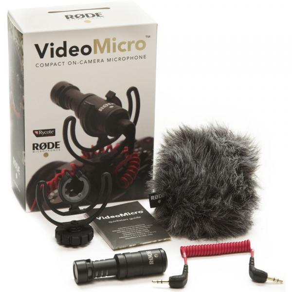 Rode VideoMicro - microfon directional compact, jack standard 3.5mm 2