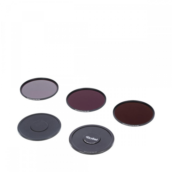 Rollei 49mm Set 3 Filtre Neutrale (ND8 / ND64 / ND1000) PREMIUM 1