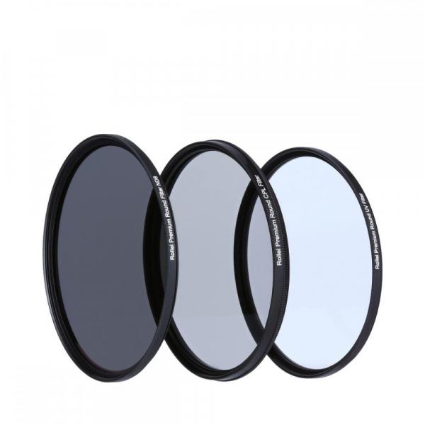 Rollei 49mm Set 3 Filtre (UV / CPL / ND8) PREMIUM 2