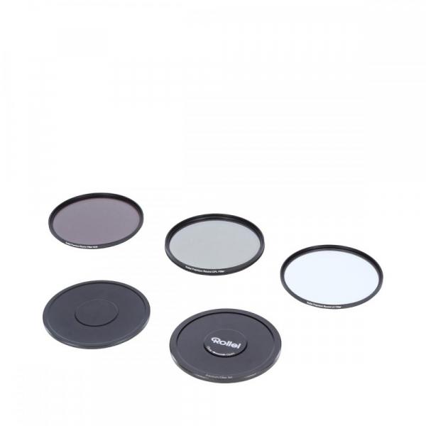 Rollei 49mm Set 3 Filtre (UV / CPL / ND8) PREMIUM 1
