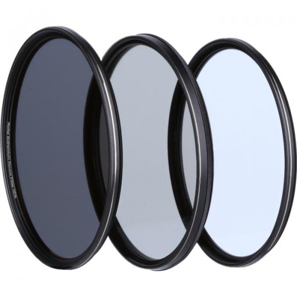 Rollei 55mm Set 3 Filtre (UV / CPL / ND8) Extremium 1