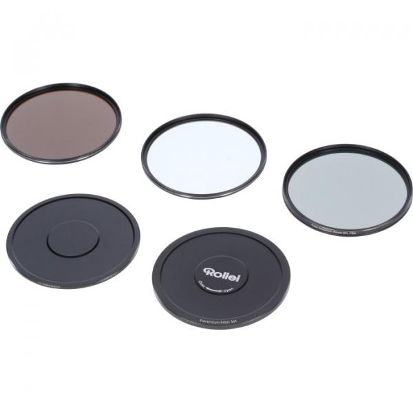 Rollei 55mm Set 3 Filtre (UV / CPL / ND8) Extremium 2