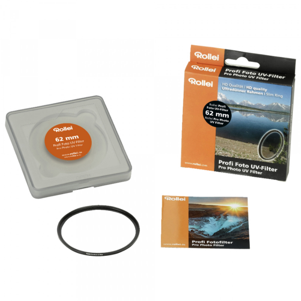 Rollei 62mm filtru UV PROFI 0