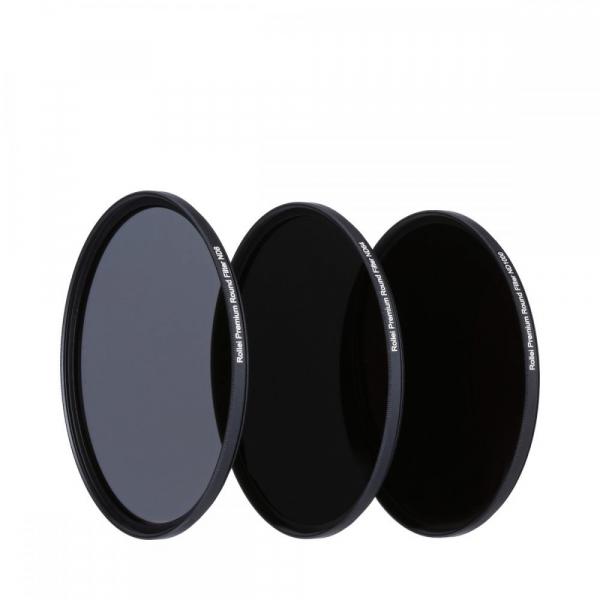 Rollei 62mm Set 3 Filtre Neutrale (ND8 / ND64 / ND1000) PREMIUM 2