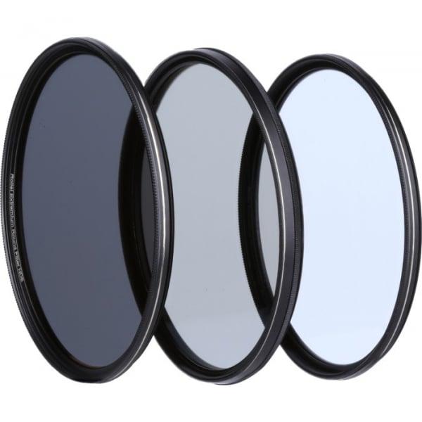 Rollei 67mm Set 3 Filtre (UV / CPL / ND8) Extremium [1]