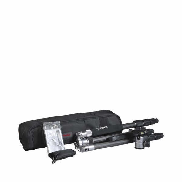 Rollei C5i - Kit trepied + cap cu bila , negru / argintiu 5
