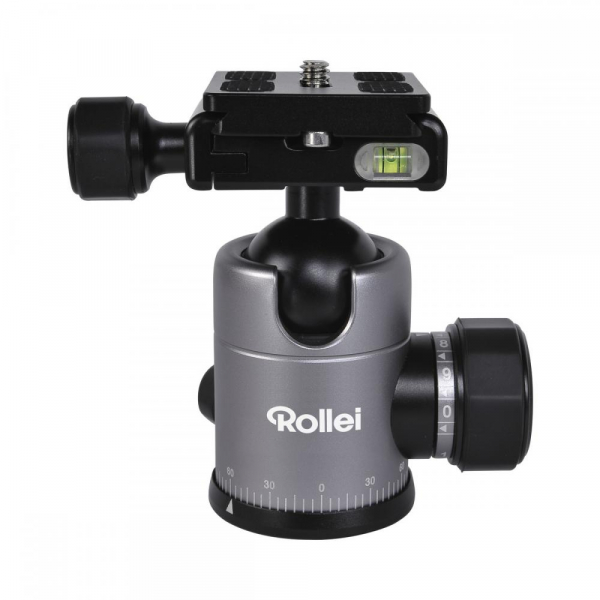 Rollei C5i - Kit trepied + cap cu bila , negru / argintiu 1