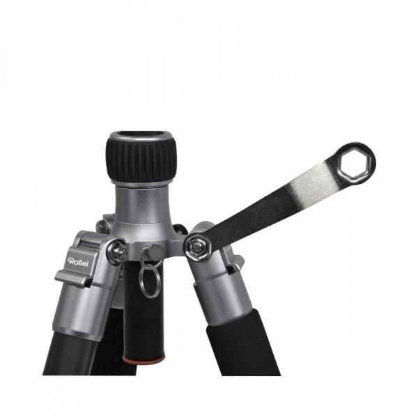 Rollei C5i - Kit trepied + cap cu bila , negru / argintiu 8