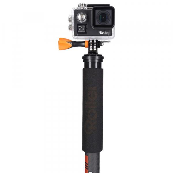 Rollei City Traveler Mono -monopied din carbon -negru/ portocaliu 3