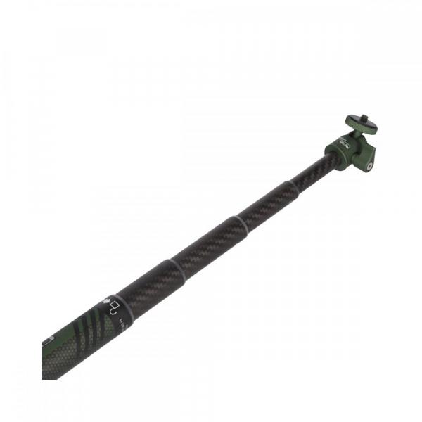 Rollei City Traveler Mono -monopied din carbon -negru/ verde 5