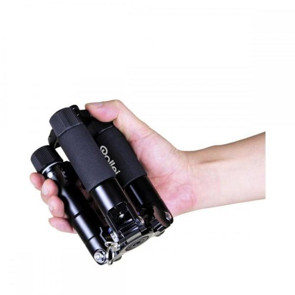 Rollei Compact Traveler Mini M-1 - kit  mini trepied + cap cu bila , negru 2