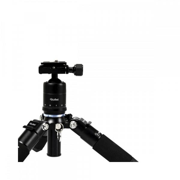 Rollei Compact Traveler Mini M-1 - kit  mini trepied + cap cu bila , negru 4