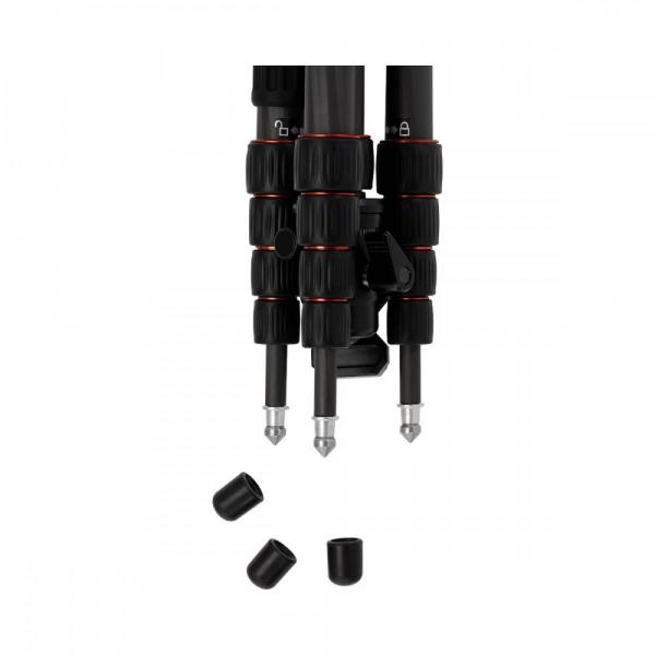 Rollei Compact Traveler No. 1 Carbon -  kit trepied + cap cu bila , negru [9]