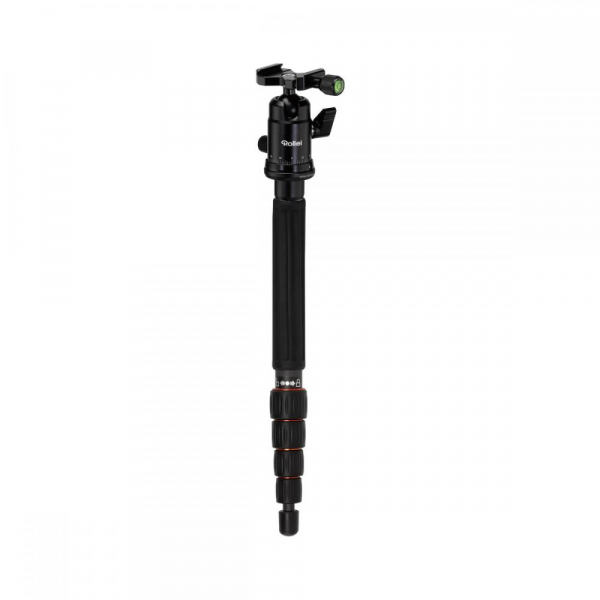 Rollei Compact Traveler No. 1 Carbon -  kit trepied + cap cu bila , negru [5]