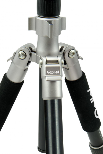 Rollei Compact Traveler No.1 - kit trepied + cap cu bila , negru / argintiu 5