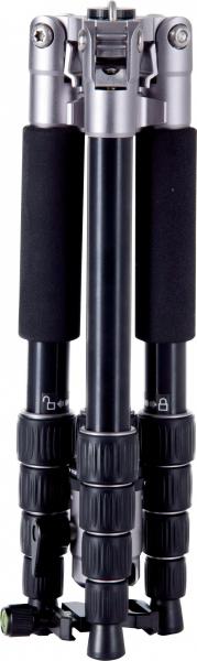 Rollei Compact Traveler No.1 - kit trepied + cap cu bila , negru / argintiu 3