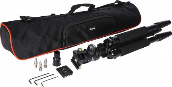 Rollei Rock Solid Gamma Mark II Carbon , kit trepied foto+ cap cu bila 5