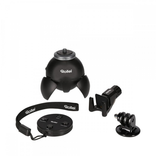 Rollei Smart ePano 360 - cap panoramic pentru smartphone si GoPro [2]