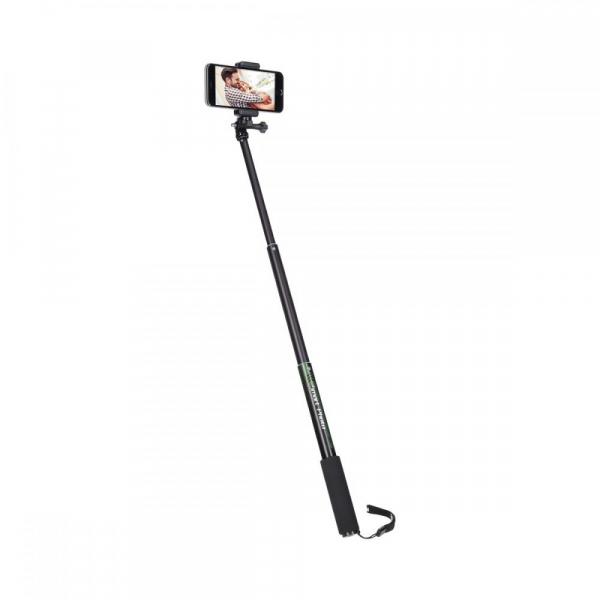 Rollei Smart Photo Selfie Stick cu suport de telefon si mini trepied , verde/negru 3