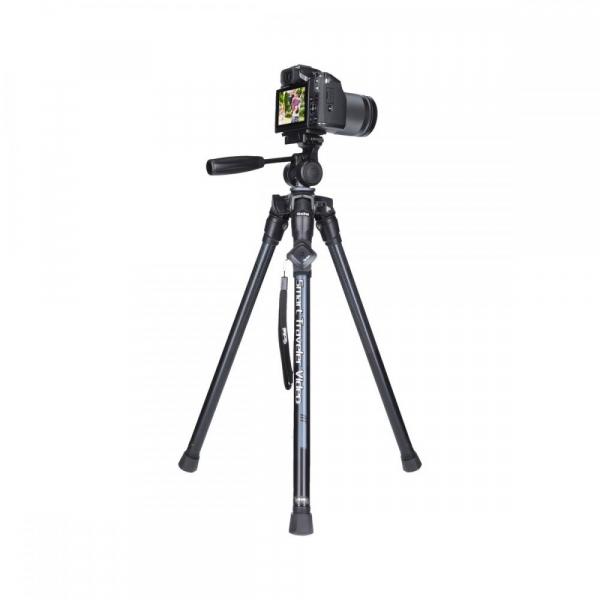 Rollei Smart Traveler Video - kit trepied + cap cu maneta , negru / argintiu 5