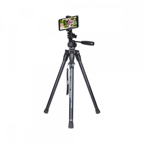 Rollei Smart Traveler Video - kit trepied + cap cu maneta , negru / argintiu 4