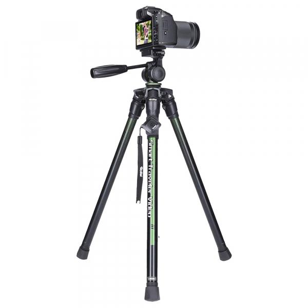 Rollei Smart Traveler Video - kit trepied + cap cu maneta , negru  / verde 5