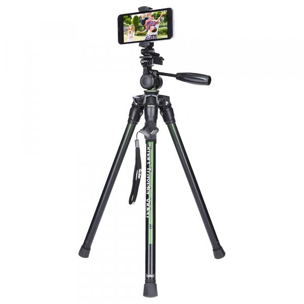 Rollei Smart Traveler Video - kit trepied + cap cu maneta , negru  / verde 4