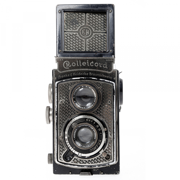 Rolleicord I  Art-deco Nickel plated 0
