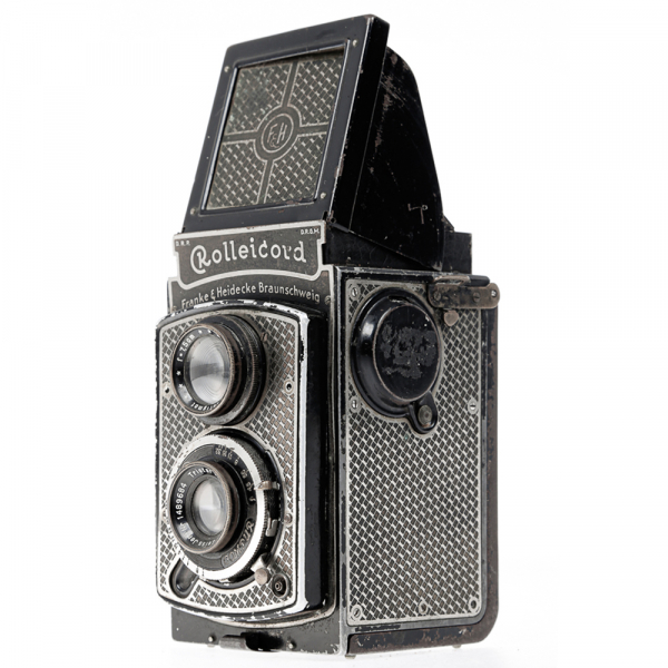 Rolleicord I  Art-deco Nickel plated 1