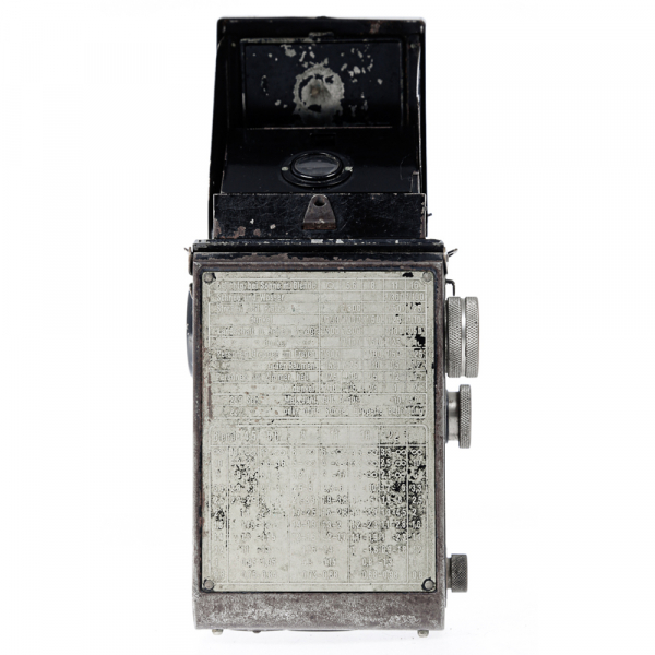 Rolleicord I  Art-deco Nickel plated 2