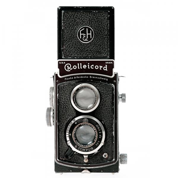 Rolleicord II Zeiss Triotar 3,5/75mm 0