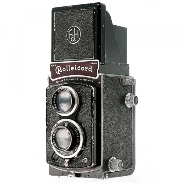 Rolleicord II Zeiss Triotar 3,5/75mm 1