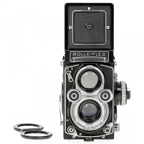 Rolleiflex 3.5 F ,Carl Zeiss-Plannar 1/3,5 F-75 mm 3