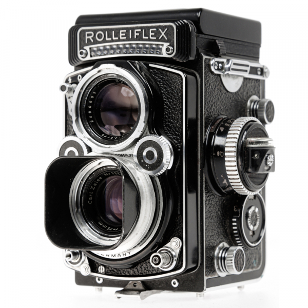 Rolleiflex 3.5 F ,Carl Zeiss-Plannar 1/3,5 F-75 mm 8