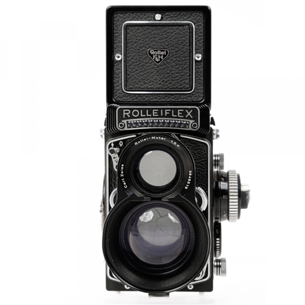 Rolleiflex 3.5 F ,Carl Zeiss-Plannar 1/3,5 F-75 mm 6