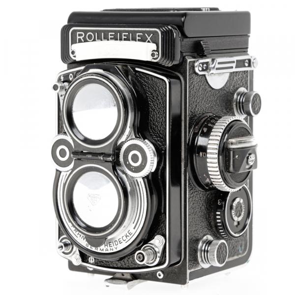 Rolleiflex 3.5 F ,Carl Zeiss-Plannar 1/3,5 F-75 mm 2