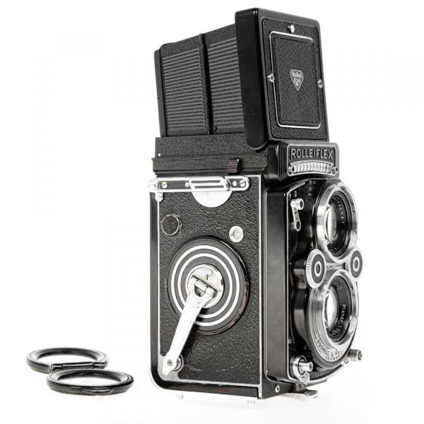 Rolleiflex 3.5 F ,Carl Zeiss-Plannar 1/3,5 F-75 mm 5